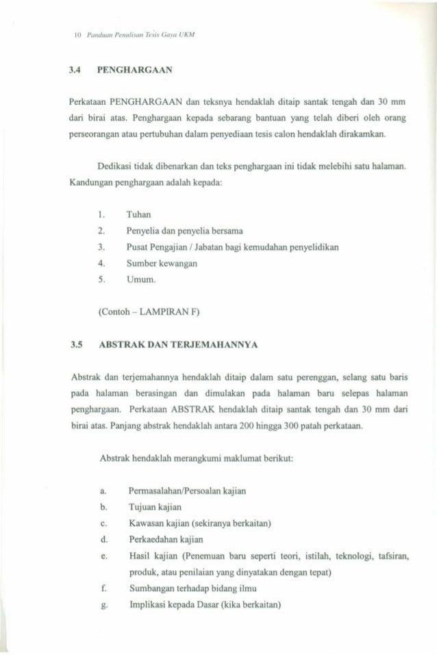 penulisan tesis gaya ukm 2014 Panduan penulisan tesis gaya ukm (download from 4shared or ifile) gayaukmblogspotcom receives many requests from readers to.