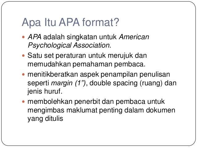 psychology apa format essay