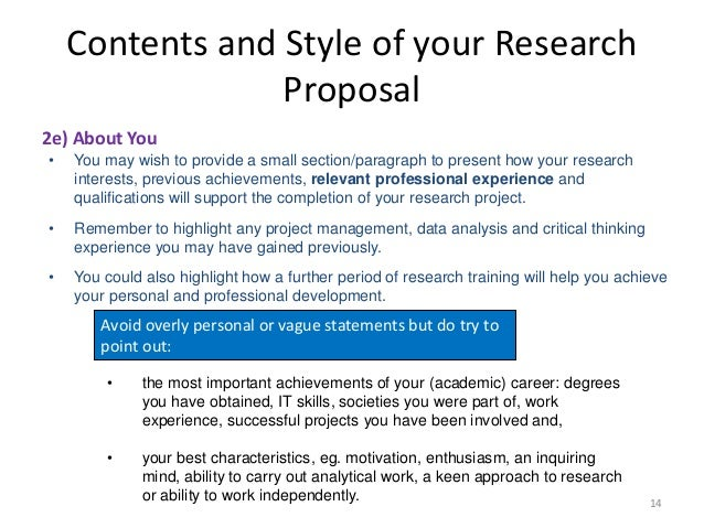 characteristics of a good proposal A good proposal should be readable, well-organized, understandable and grammatically correct your proposal should clearly explain how the proposed idea made.