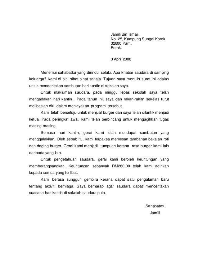 contoh format surat rasmi untuk kerajaan contoh l
