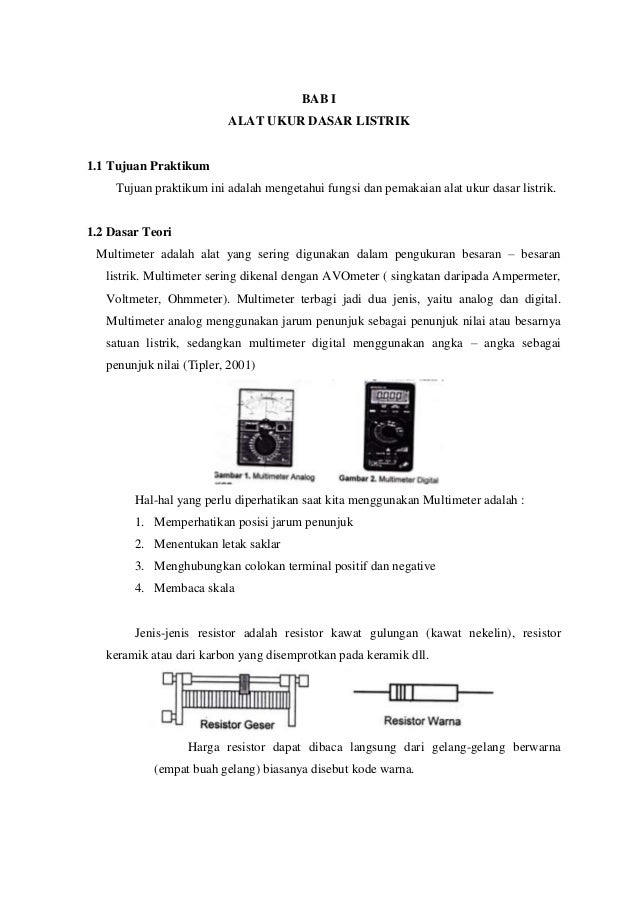 Penuntun Praktikum Fisika Dasar 2