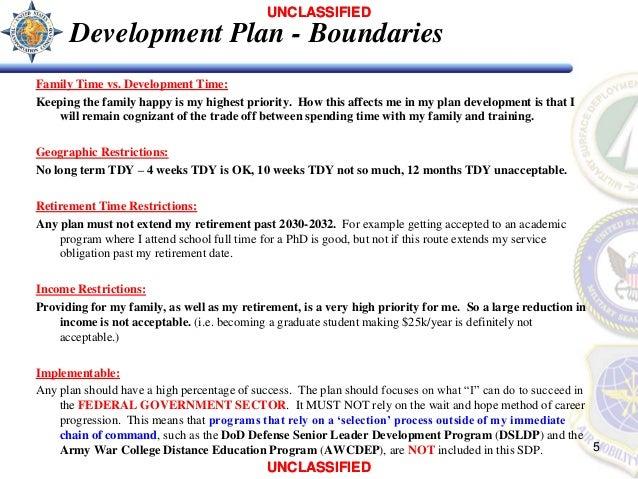 sample personal development plan pdf