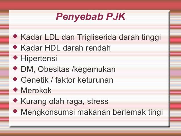 PJK (Penyakit Jantung koroner) merupakan buah dari OBESITAS