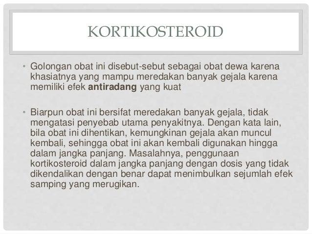 efek kortikosteroid oral
