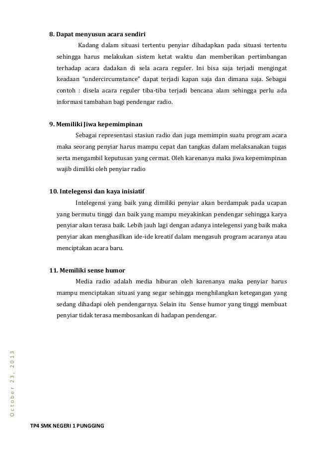 Contoh Pembawa Berita Dalam Bahasa Inggris Berbagai Contoh