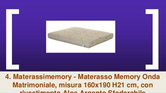Materasso Matrimoniale Memory Onda.La Top 9 Materasso Memory Foam 21cm Nel 2018