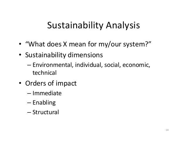 sustainability essay the enabling society