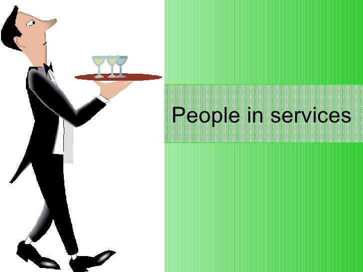 People in services