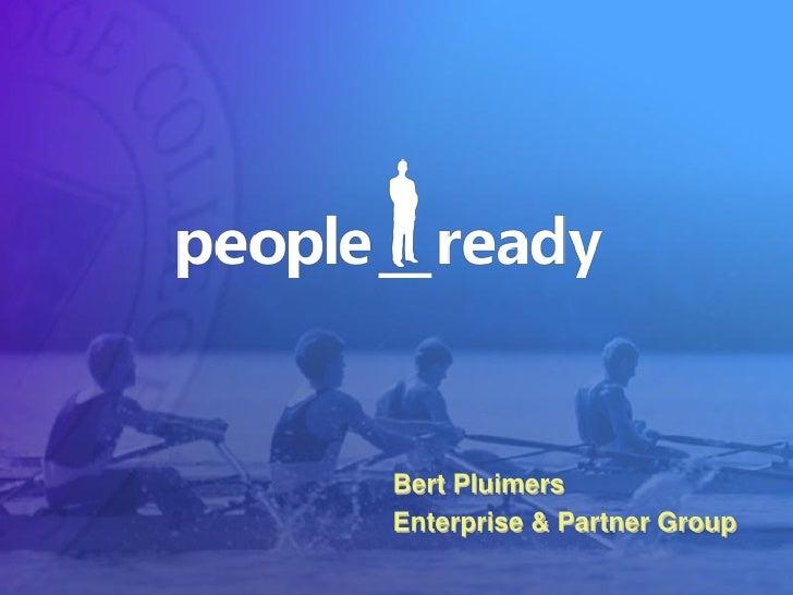 Bert Pluimers Enterprise & Partner Group