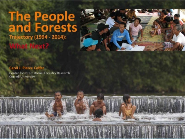 Overview   Early days of attention to people in forests   Rare but encouraging recent examples –  toward sustainability ...