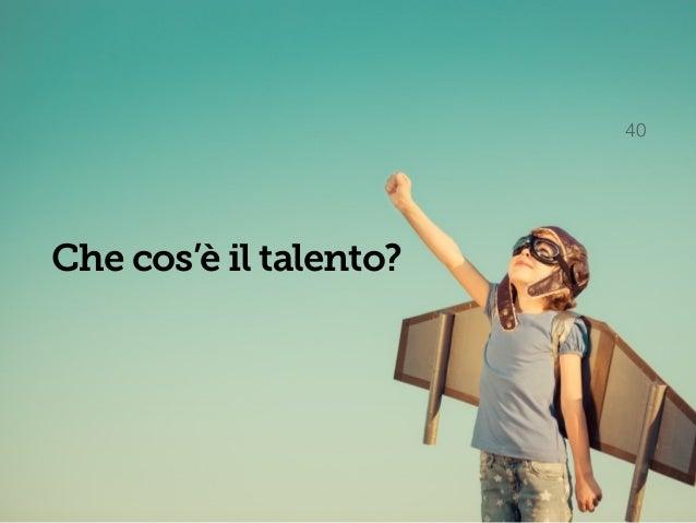 Talento / Esclusivo 41