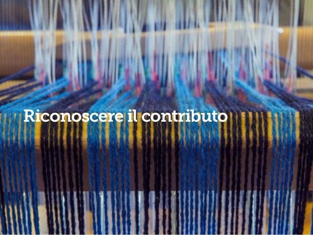 85 #senso Riconoscere il contributo #talento