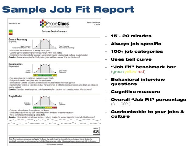 PeopleClues Pre-Employment Test System