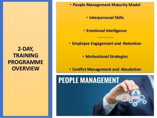 People management skills Slide 2