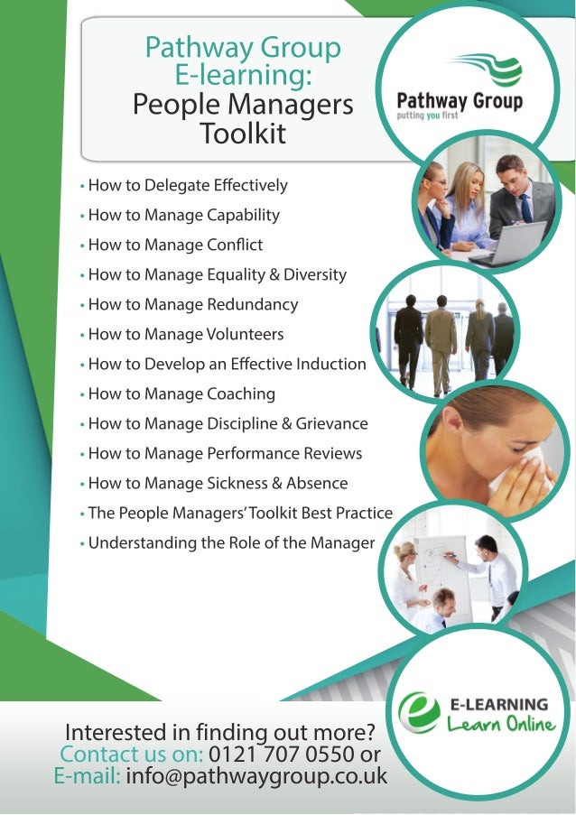 People Mangers Toolkit Main Flyer