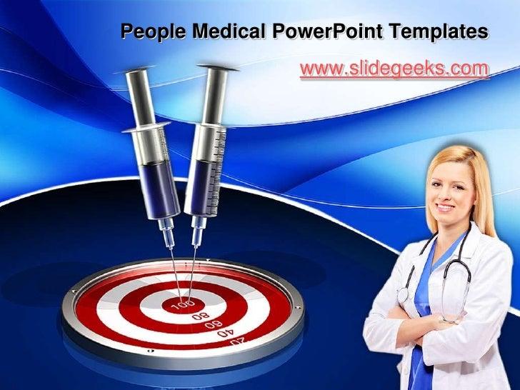 People Medical PowerPoint Templates<br />www.slidegeeks.com<br />