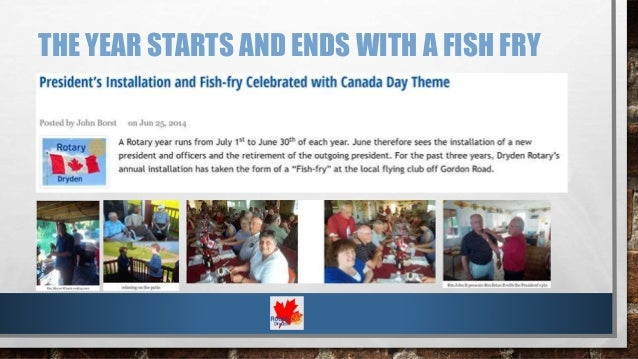 People of Action: Rotary Club of Dryden (ON, Canada) Slide 2