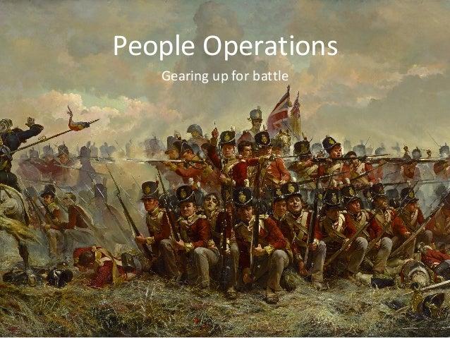 Gearingupforbattle PeopleOperations
