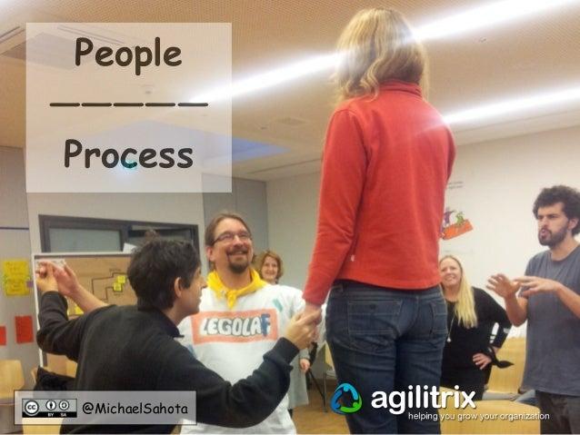 People  —————  Process  @MichaelSahota