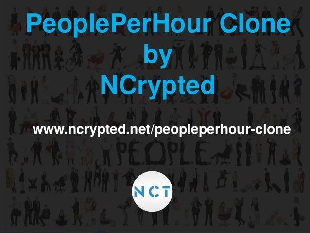 PeoplePerHour Clone by NCrypted www.ncrypted.net/peopleperhour-clone