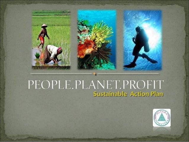 Sustainable Action PlanSustainable Action Plan