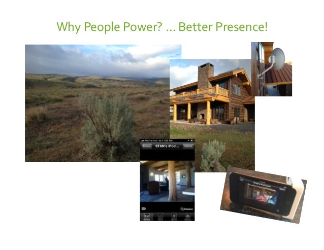 Confiden'al   Why  People  Power?  …  Better  Presence!