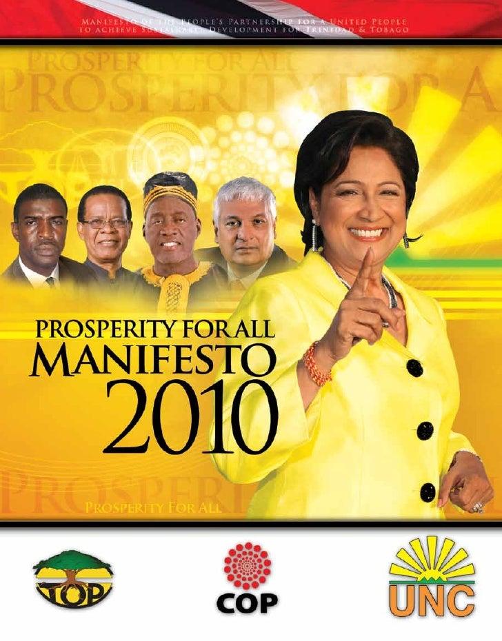 Manifesto  2010                 Page   1