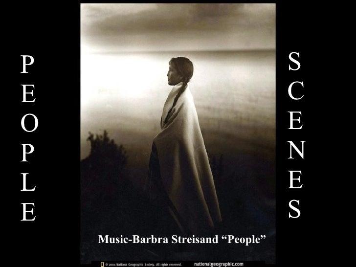 "P E O P L E S C E N E S Music-Barbra Streisand ""People"""