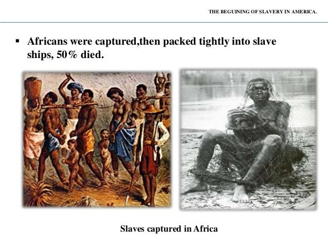 Slavery in America Middle Passage Ship