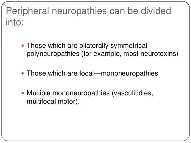 Toxic neuropathy Slide 3