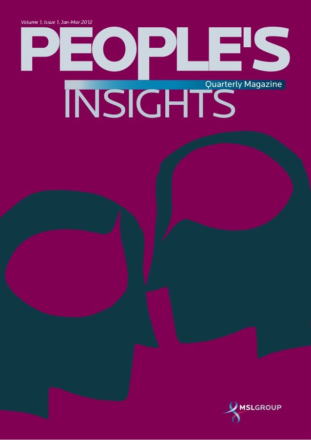 People's Insights Quarterly Magazine