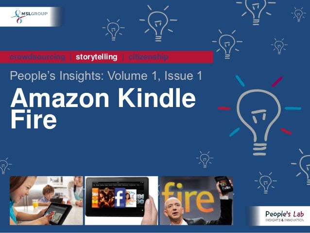 crowdsourcing | storytelling | citizenshipPeople's Insights: Volume 1, Issue 1Amazon KindleFire