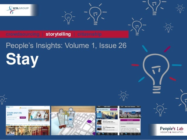crowdsourcing | storytelling | citizenshipPeople's Insights: Volume 1, Issue 26Stay