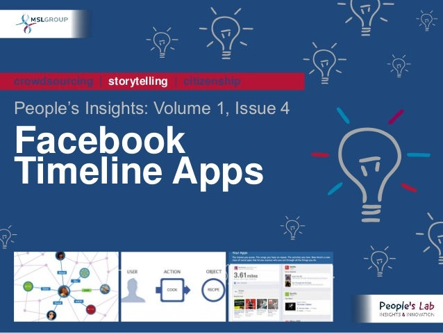 crowdsourcing | storytelling | citizenshipPeople's Insights: Volume 1, Issue 4FacebookTimeline Apps