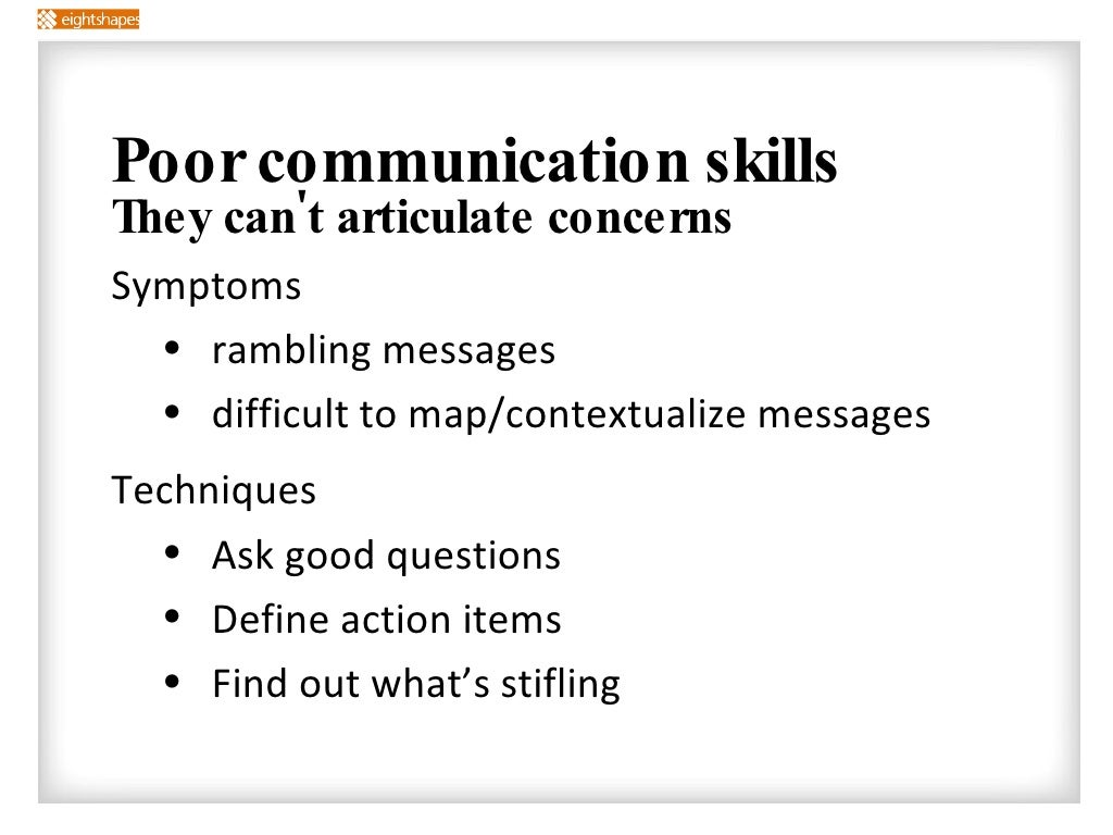 Dating someone with poor communication skills
