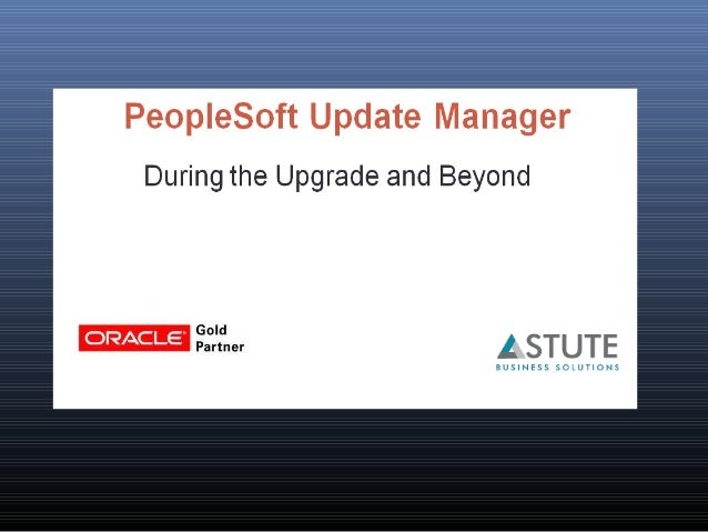 Founded by Big Five Consulting ex-employees Oracle Gold Partner Focus on PeopleSoft 15 years of PeopleSoft experience Work...