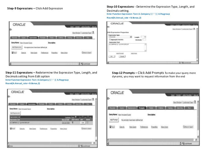 Peoplesoft Query Overview
