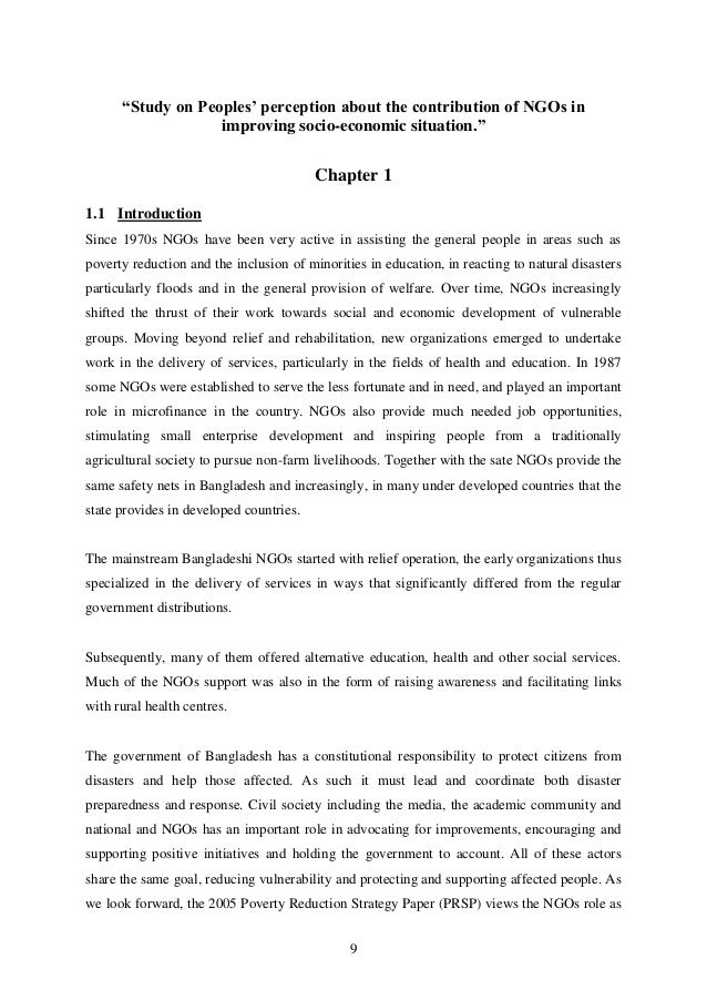contribution of ngos Role of ngos in promoting human rights in ethiopia: a case study on ethiopian human rights council (ehrco) - israel endale - research paper.