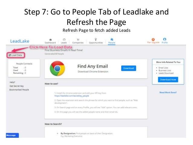 LeadLake | People tab