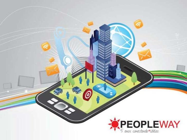 A EmpresaEmpresa de interatividade digitalque oferece produtos e serviços detecnologia MOBILE e WEB, parasoluções interati...