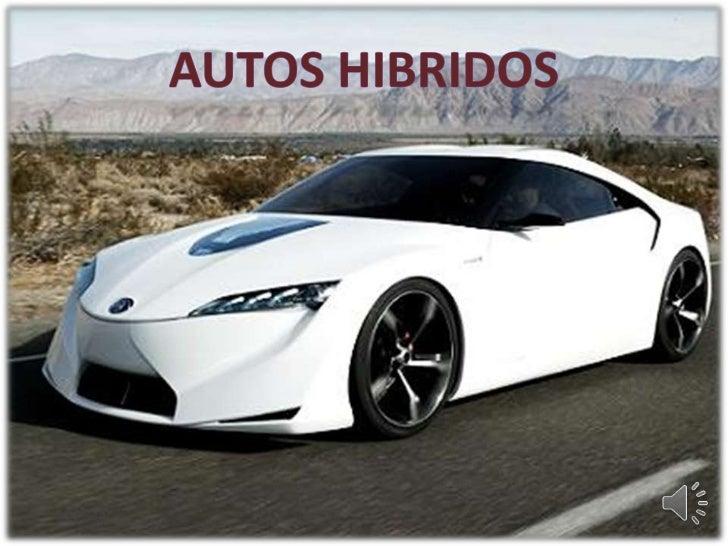 AUTOS HIBRIDOS