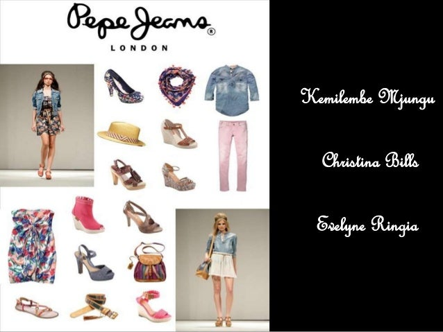 Pepe jeans supply chain