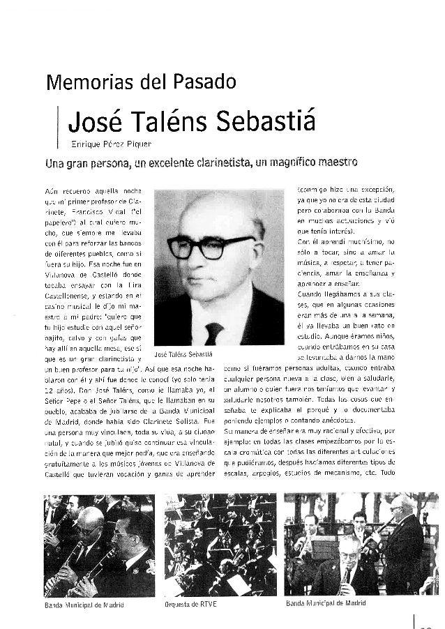 D. José Taléns Sebastiá/Enrique Pérez Piquer