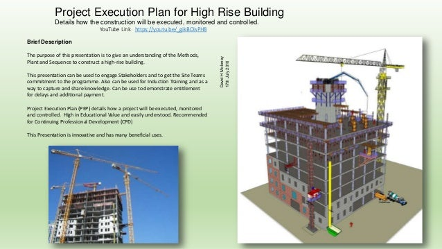 Project execution plan for high rise building for Website build project plan