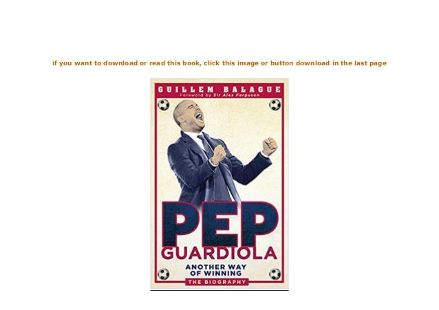 pep guardiola another way of winning pdf download