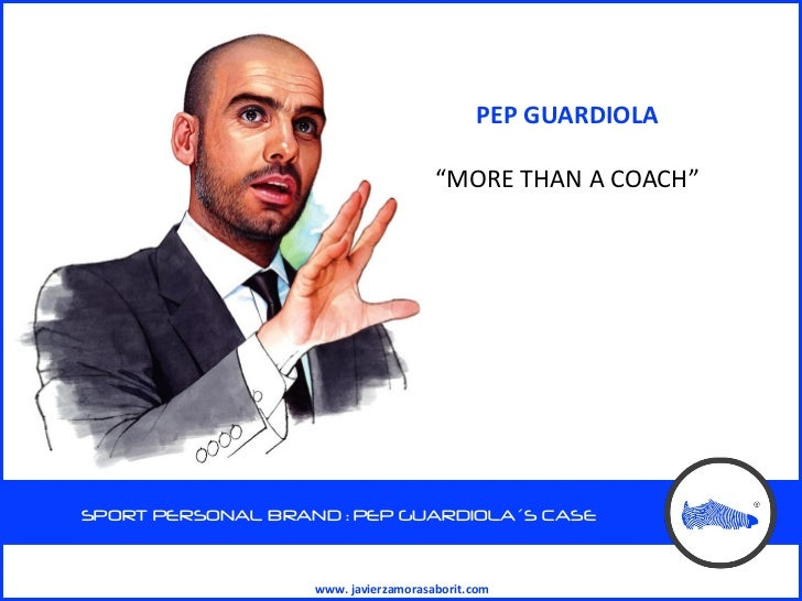 Pep guardiola inglés