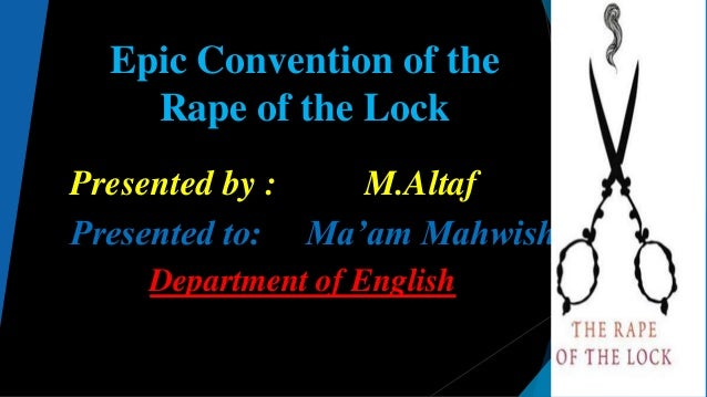 machinery in the rape of the lock