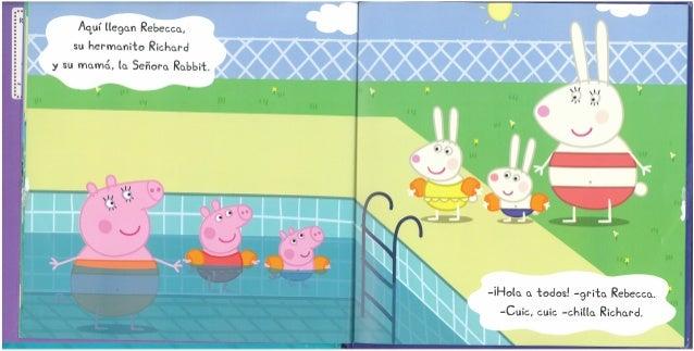 Peppa pig va a la piscina for Peppa pig piscina