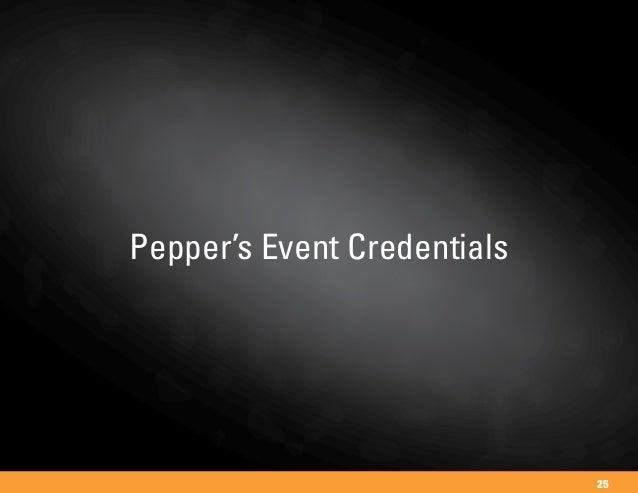 Pepper's Event Credentials 25