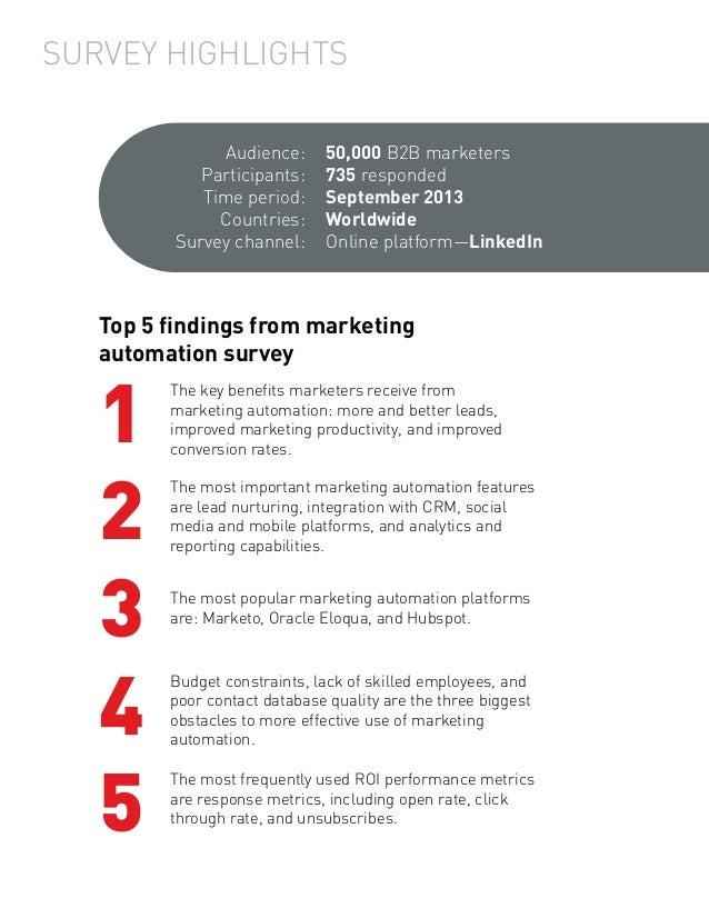 Pepper 2014 Marketing Automation Report Slide 2